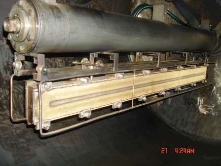 Например, магнетронная система испарения, установленная у заказчика взамен устаревшей.